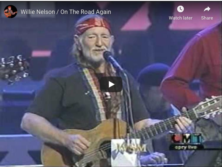 travel songs | willie nelson