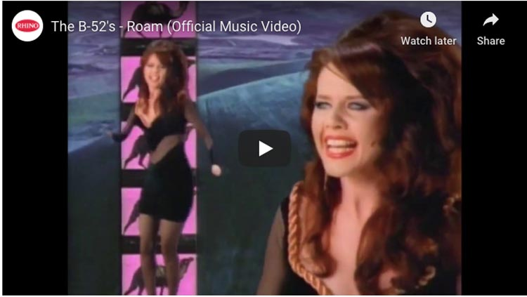 traveling music | roam b52s