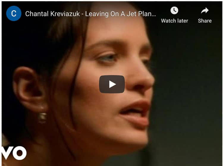 travel songs | leaving on a jet plane