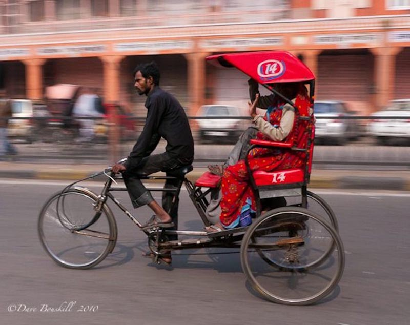 rickshaw | scams when traveling
