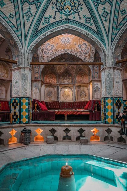 iran holidays | Sultan Amir Ahmad Bathhouse