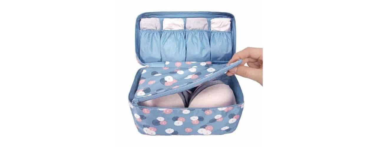 Women's Travel Gifts: Bra and Underwear Organizer