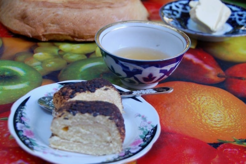 uzbekistan breakfast