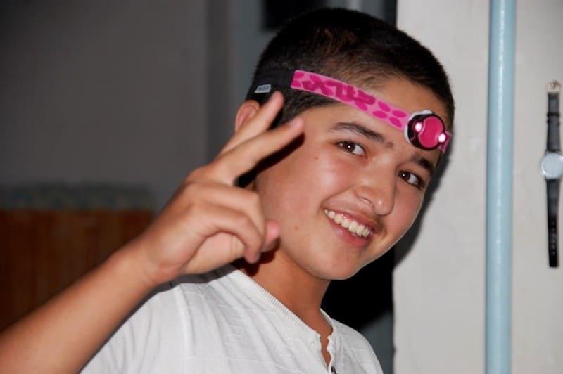 travel uzbekistan child
