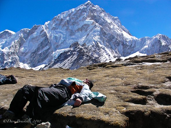 everest base camp alititude