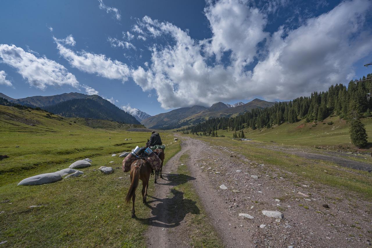 Kyrgyzstan trekking start