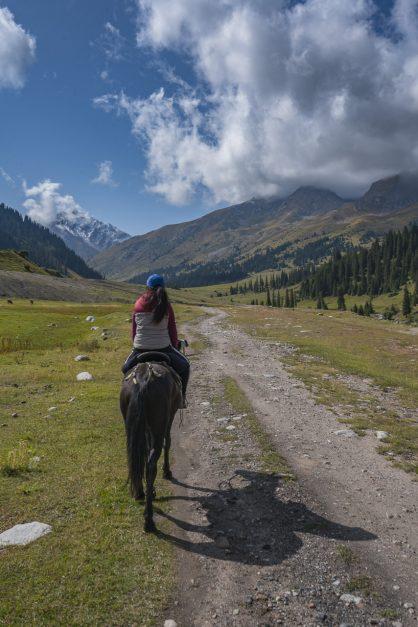 Trekking kyrgyzstan conditions
