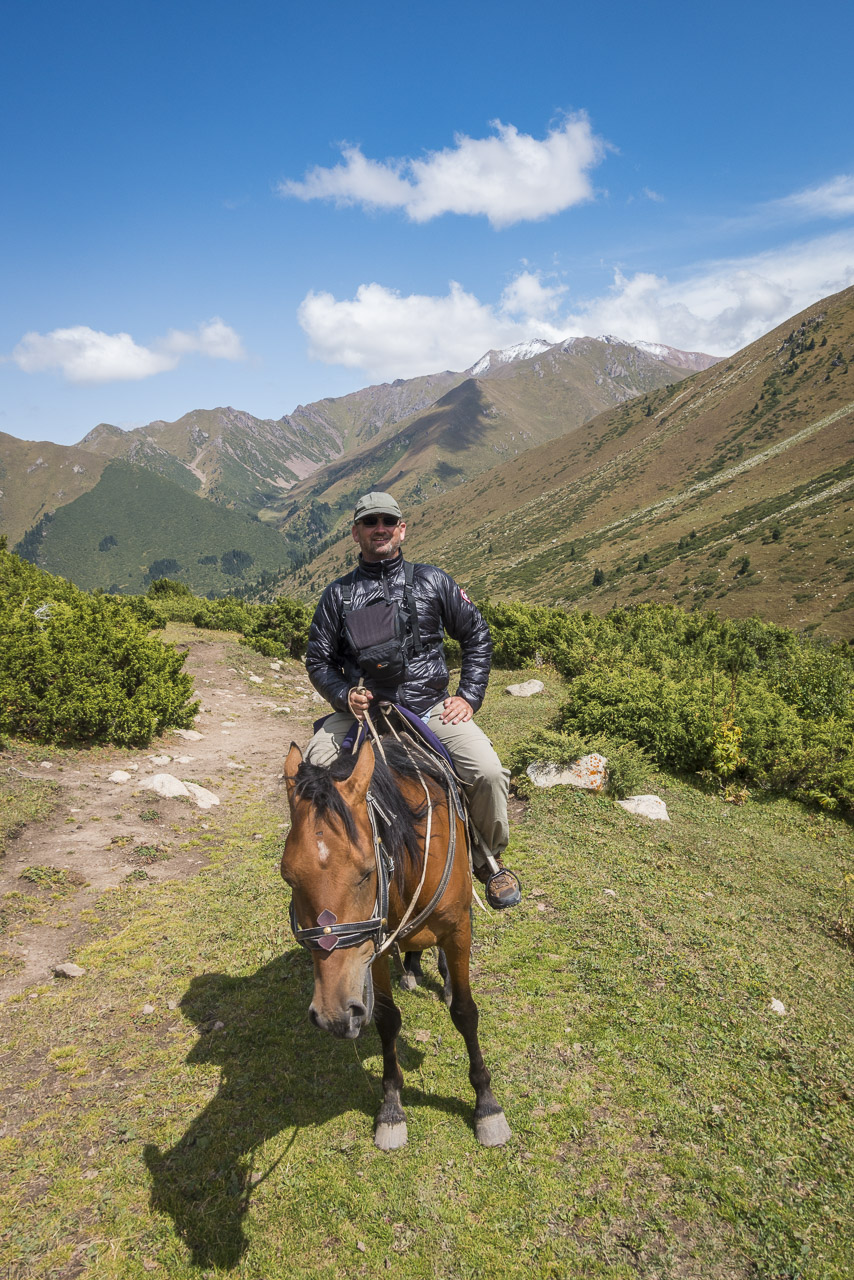 We loved our horses on this trek in Kyrgyzstan