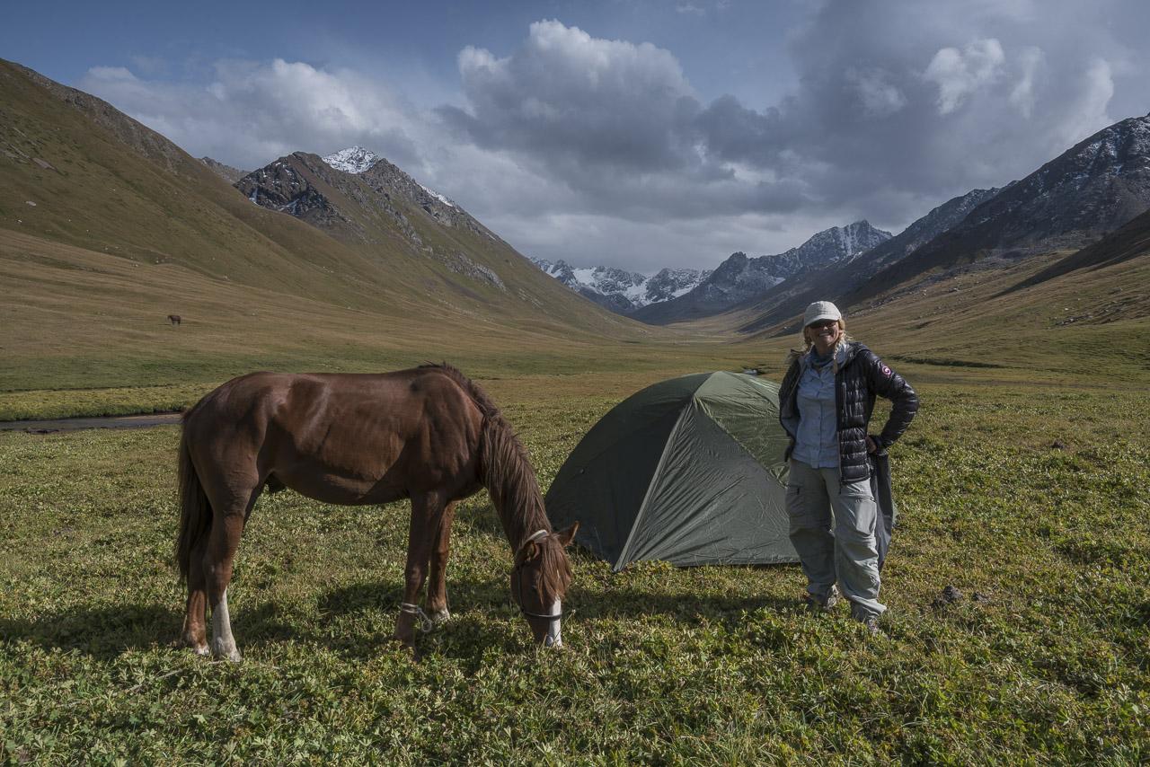 kyrgyzstan trekking tent