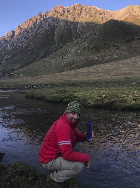 Kyrgyzstan trekking water