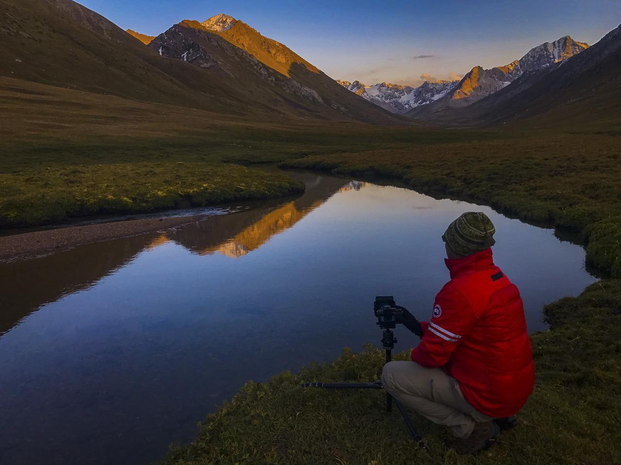 Kyrgyzstan Trekking scenery