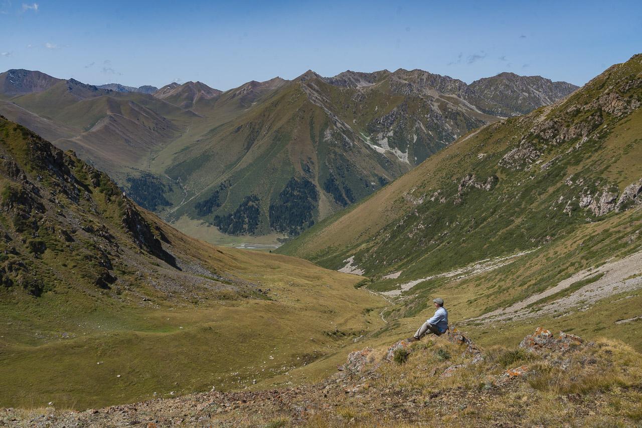 You feel like you are in the true wilderness when trekking in Kyrgyzstan