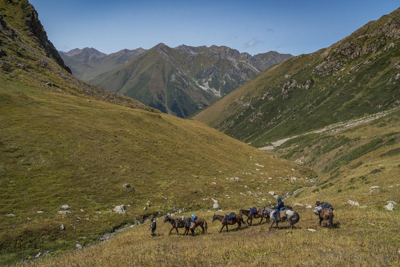 kyrgyzstan trekking difficulty