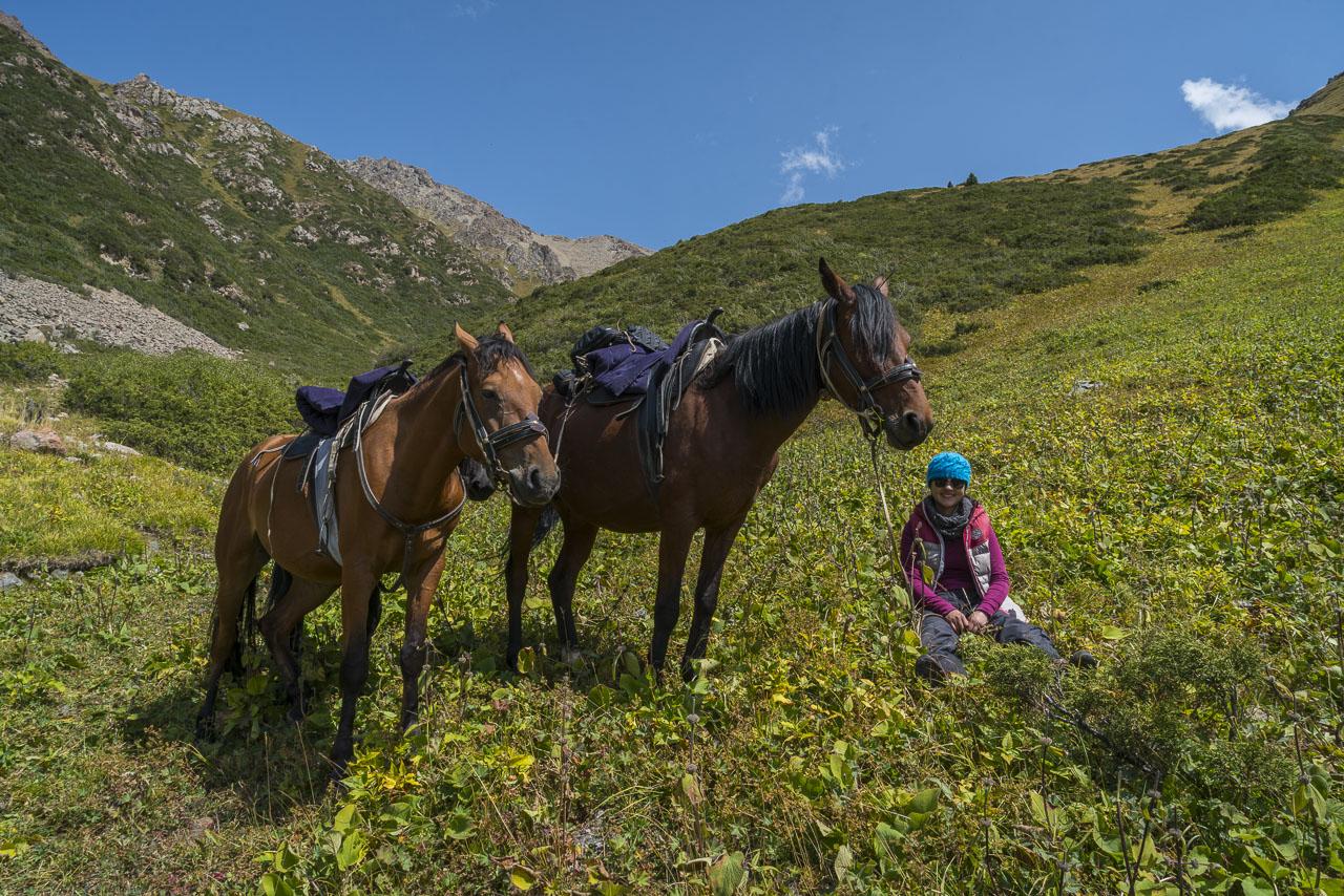 trekking in Kyrgyzstan is not easy