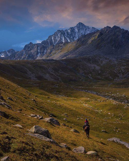 Camp near Boz Uchuk lake kyrgyzstan