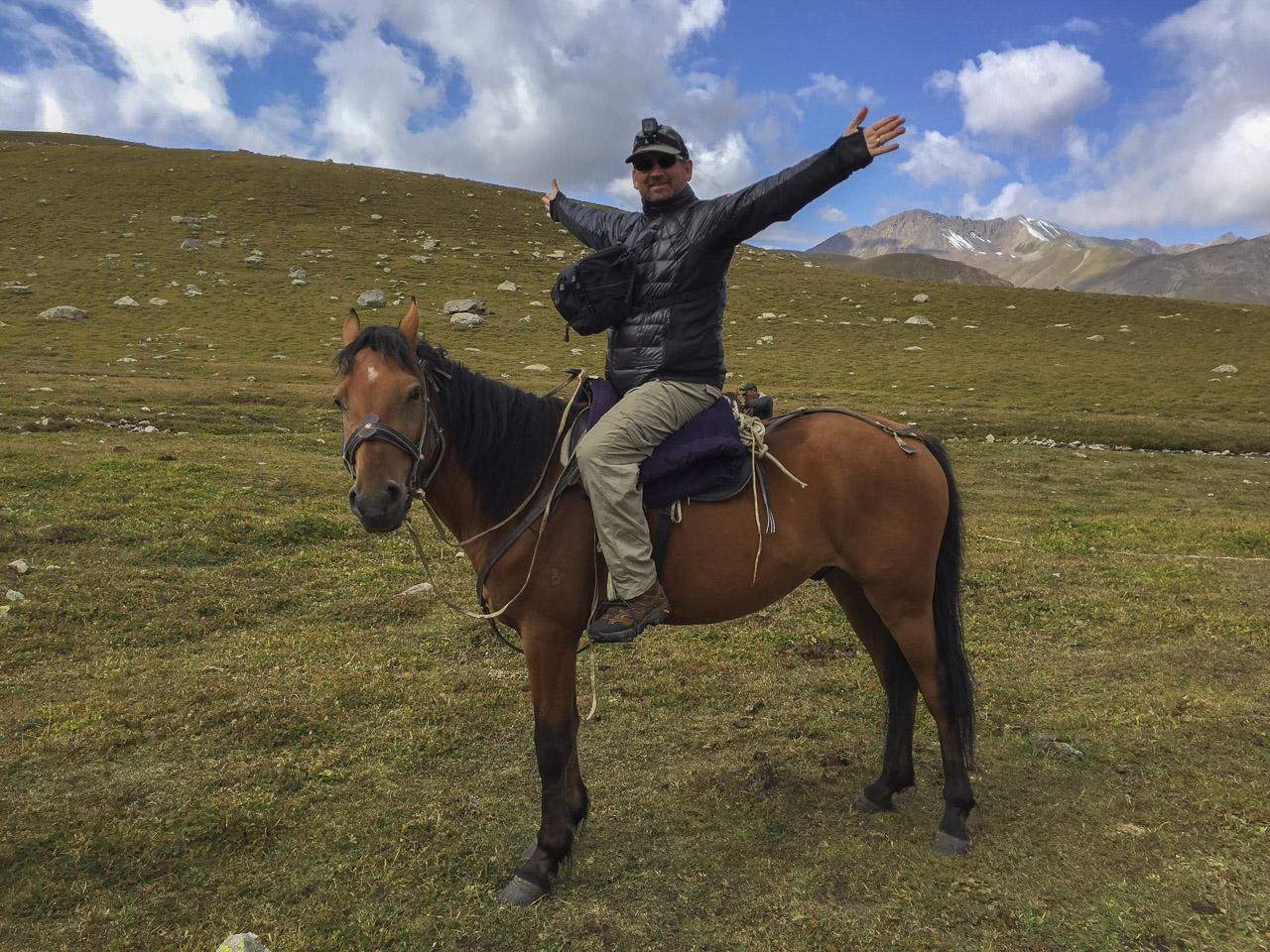 Horse Trekking in Kyrgyzstan