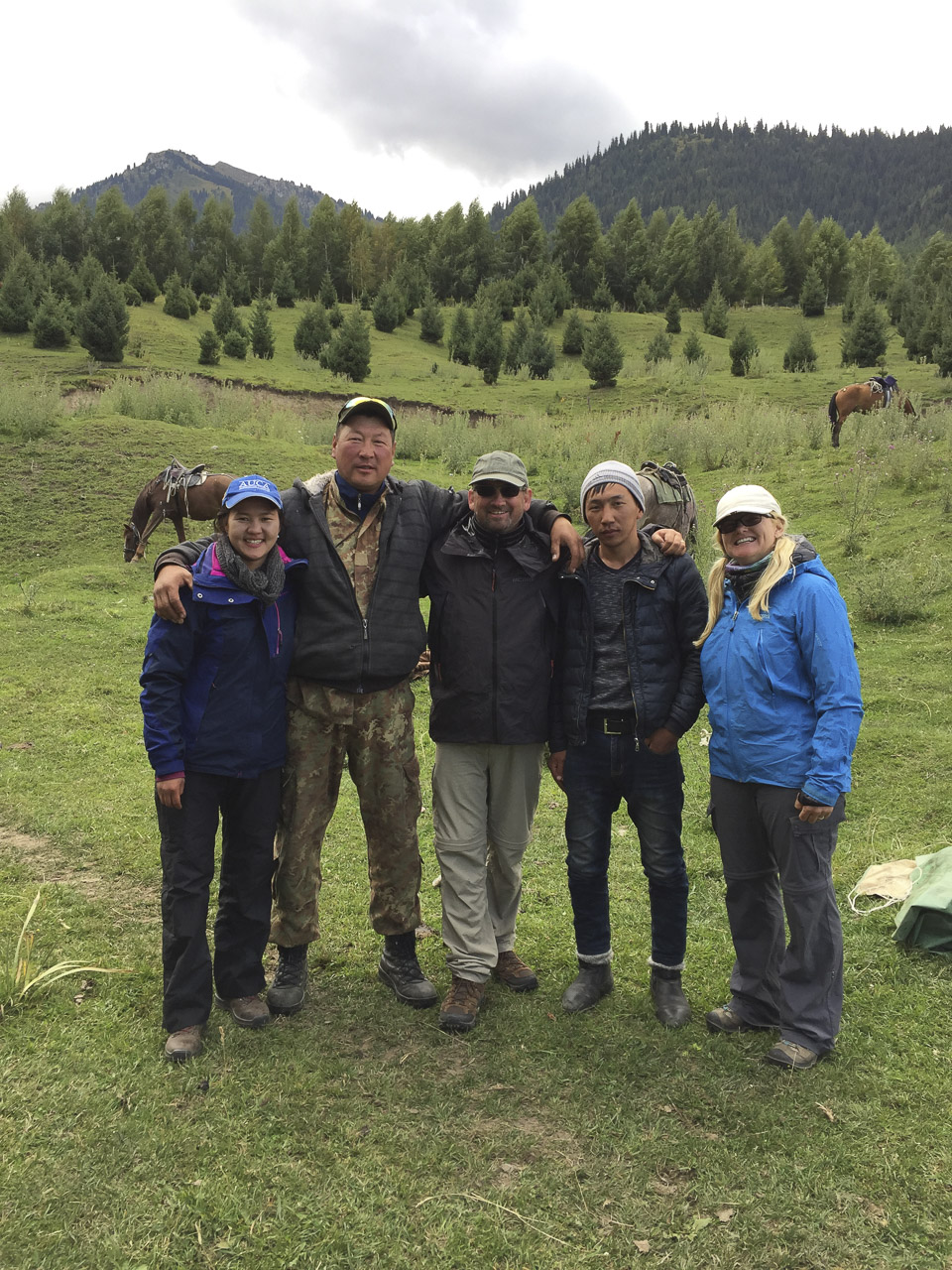 Our guides on our Kyrgyzstan Horse Trek