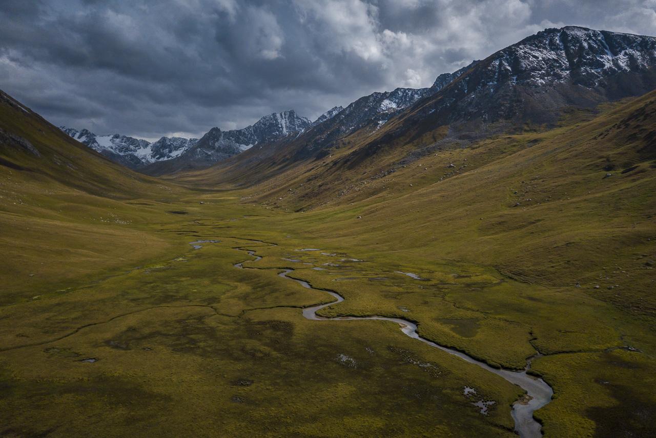 Kyrgyzstan trekking in the wild