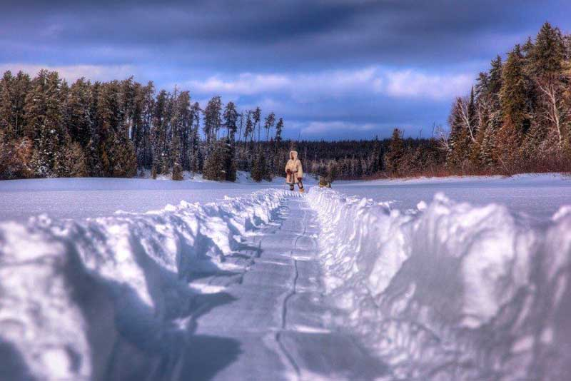 best treks in canada missinaibi headwaters winter