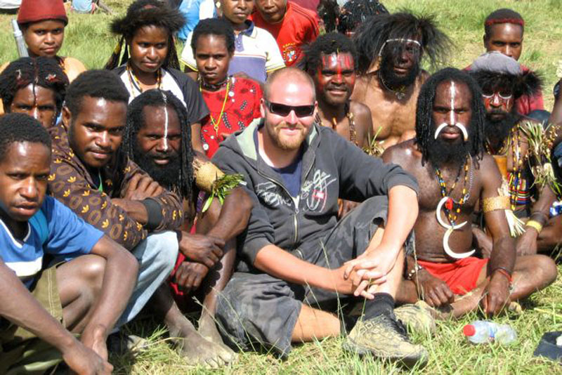 author papua indonesia tribes