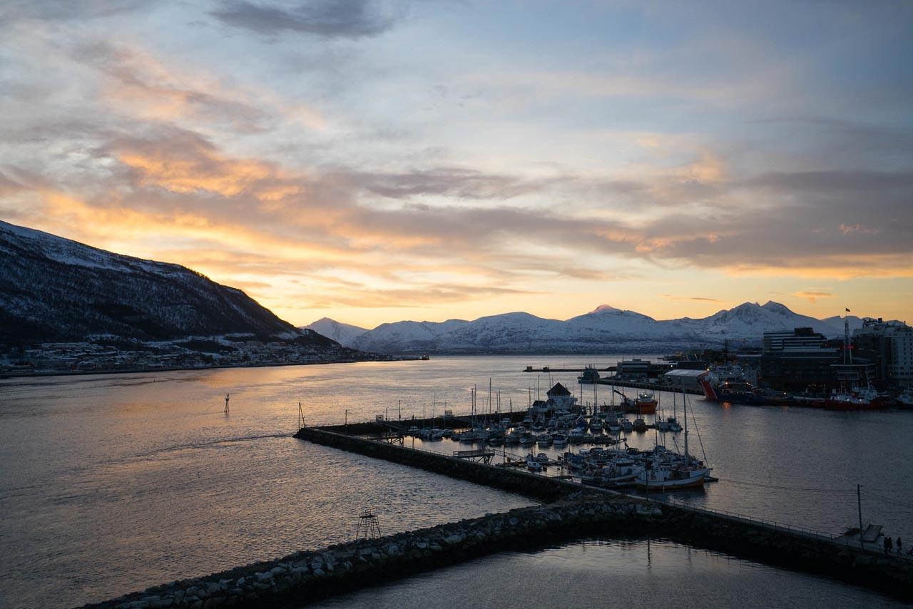 tromso norway harbor