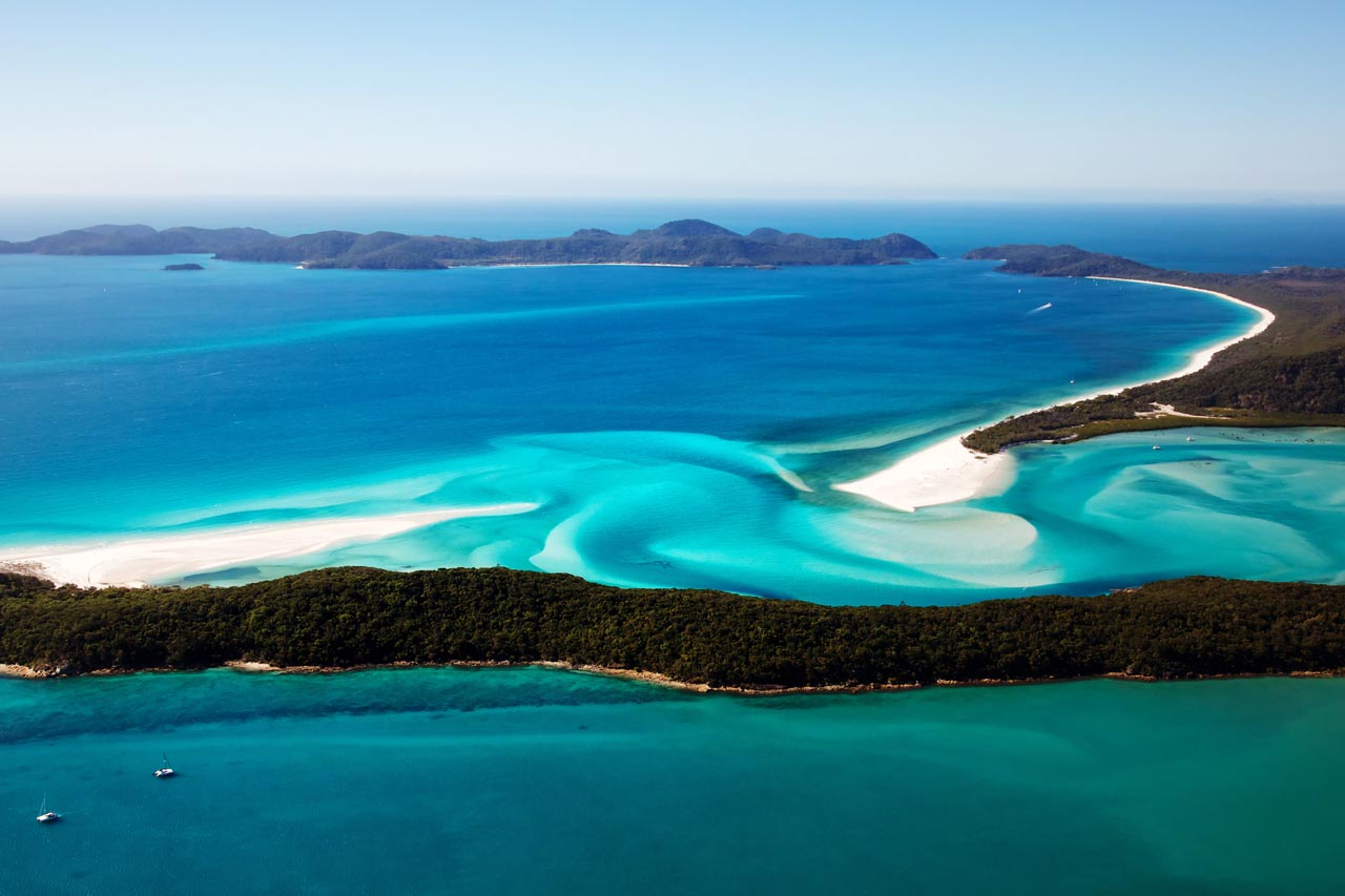 tropical places to visit | whitsundays australia