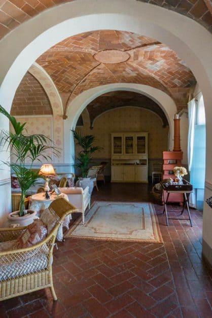 interior villa in tuscany