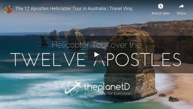 twelve apostles helicopter tour