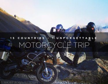 unforgettable motorcycle trip