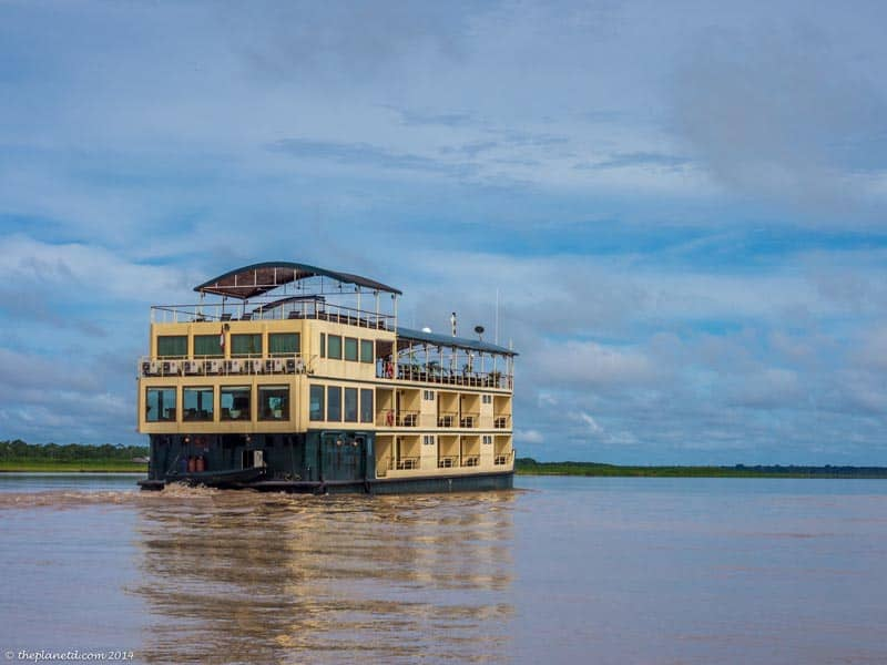 unique cruises amazon river