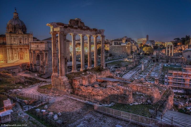 vegas landmarks rome