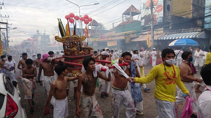 Witnessing the Gory Vegetarian Festival in Phuket