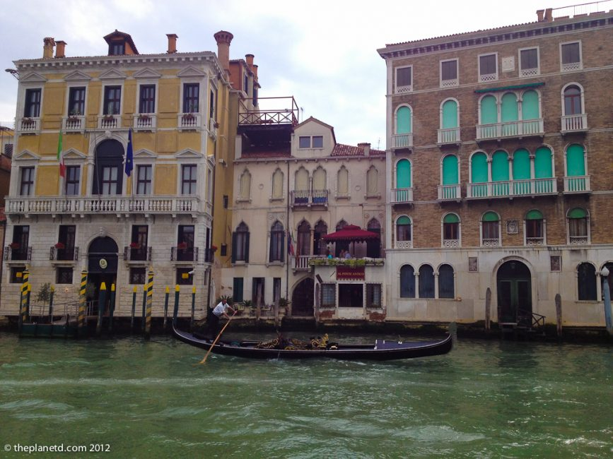 The Grand Canal In Venice, Great For Vacation Photos