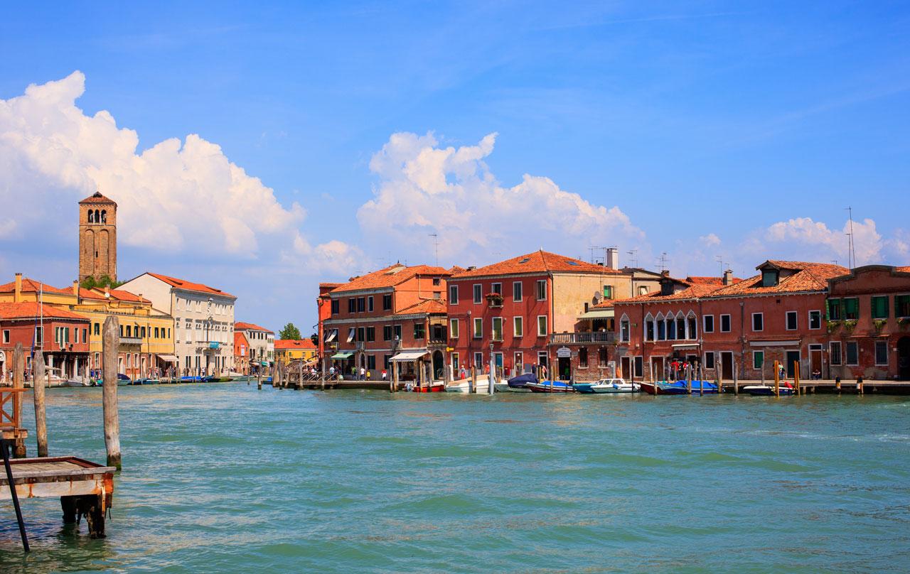murano waterfront | three days in venice