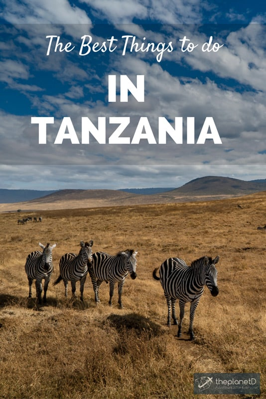 16 of the very best ideas of what do in Tanzania
