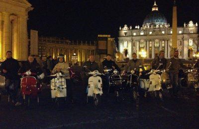 vespa tour rome group