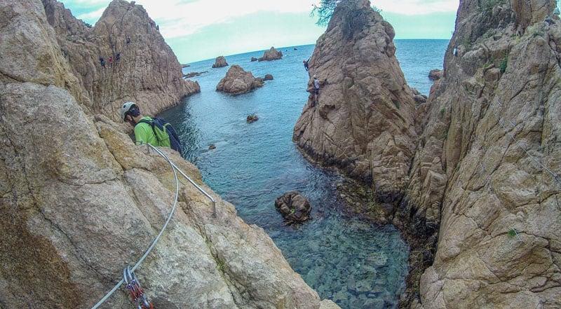 via ferrata spain cliffs