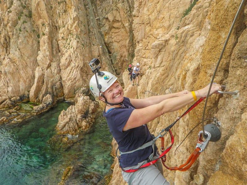 via ferrata spain climbing