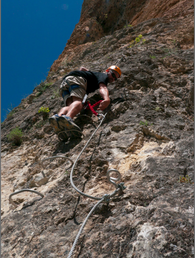 via ferrata things to do in Switzerland