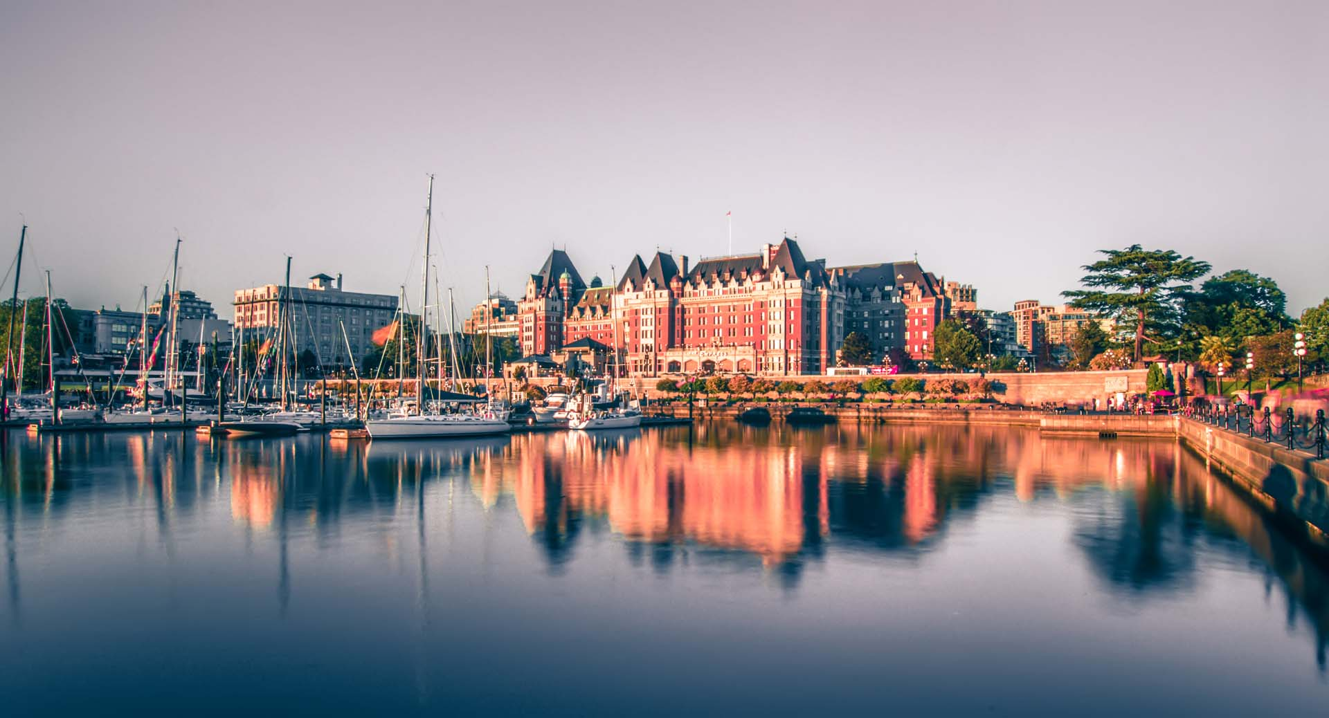 victoria british columbia waterfront