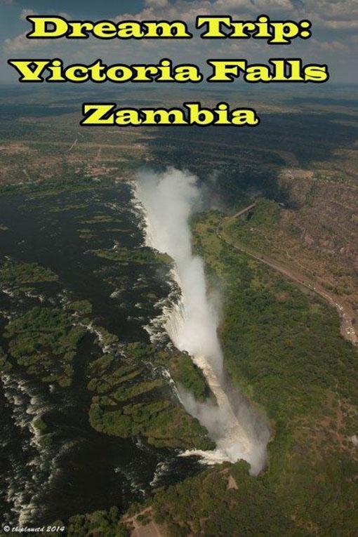victoria falls zambia pin