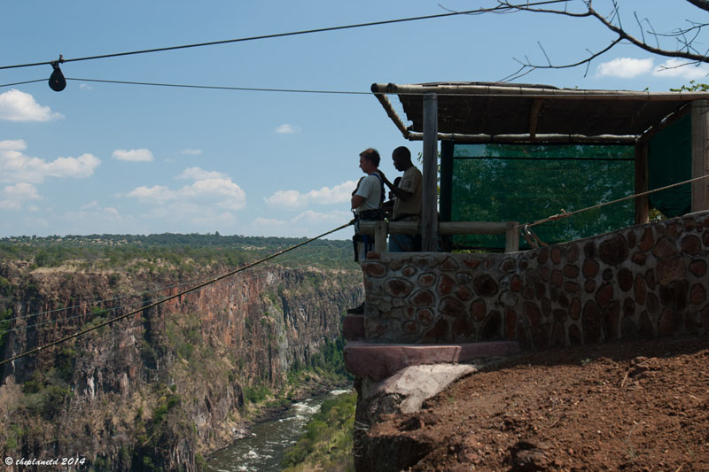 victoria falls zambia zipline