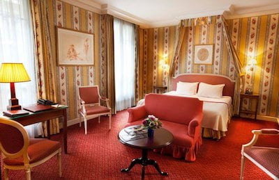 paris hotels luxury