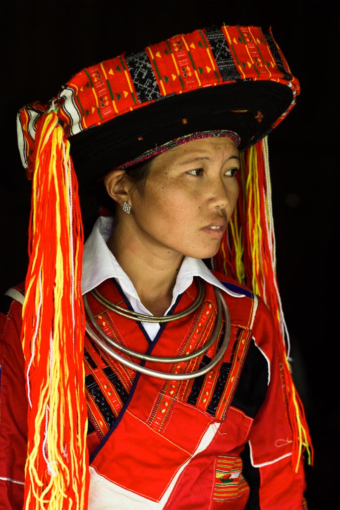 vietnamese tribal woman