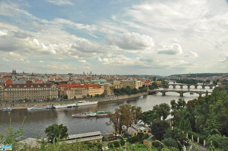 view from open air festivals in Prague