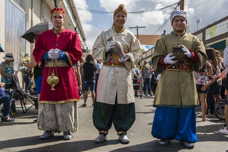 The Three Kings Festival in Puerto Rico