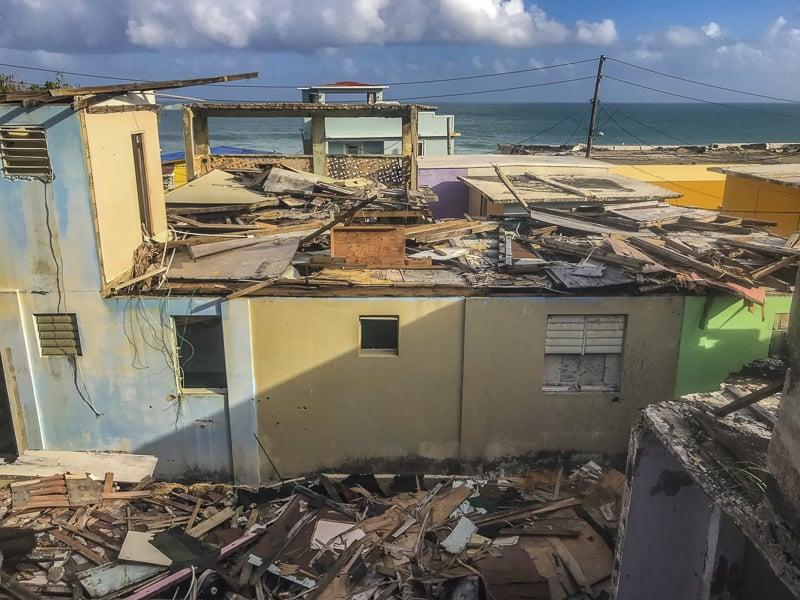 visit Puerto Rico to help rebuild