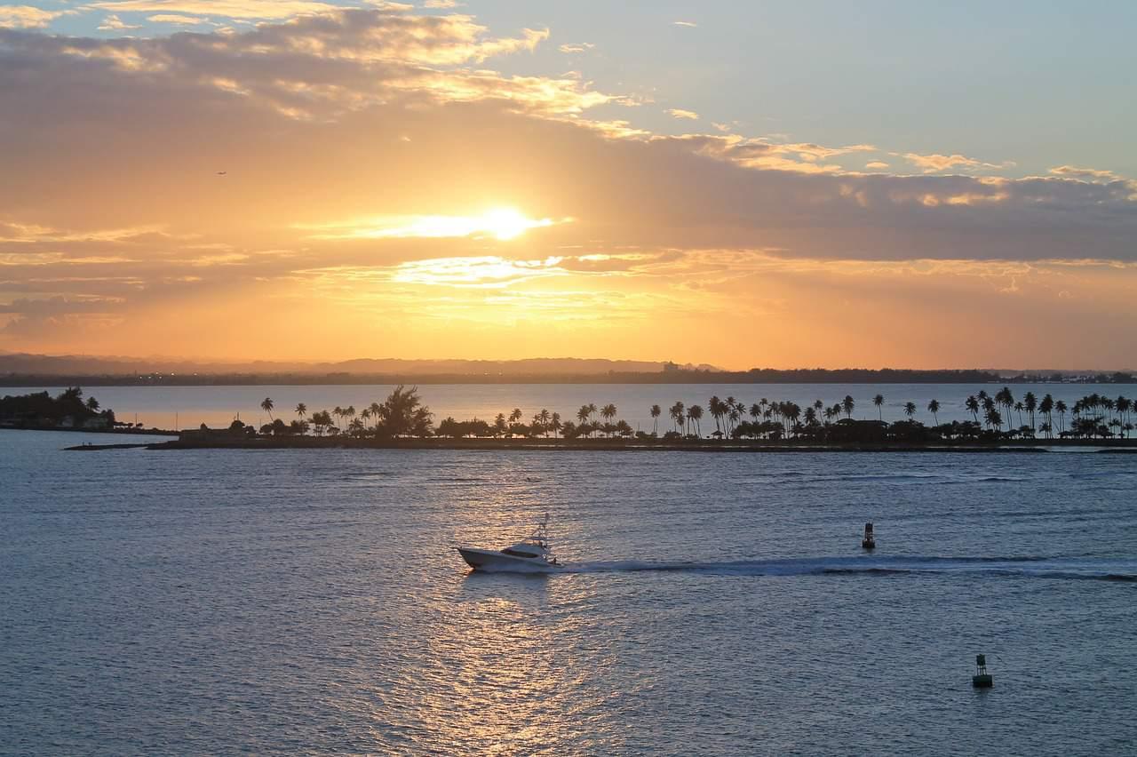 visit puerto rico sunset