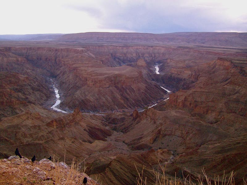 great places in africa fish river canyon