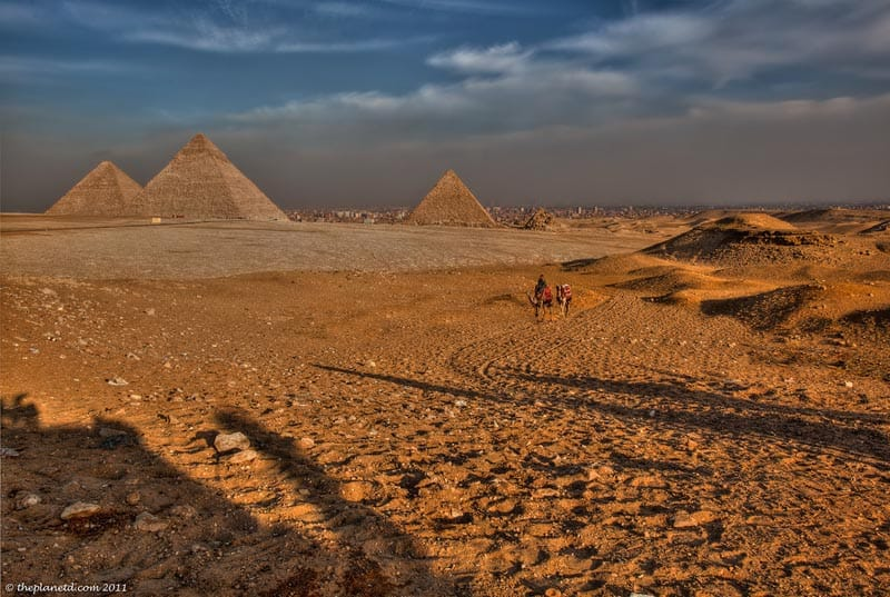 great places in africa pyramids